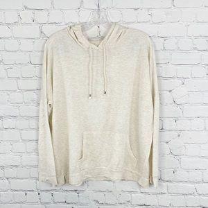 Tresic Beige Hooded Sweatshirt, Size M